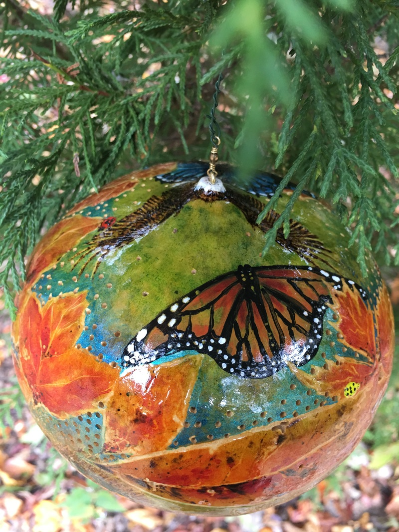 Native American Christmas Ornaments.Clarke County Native American Indian Vet Creates Ornament