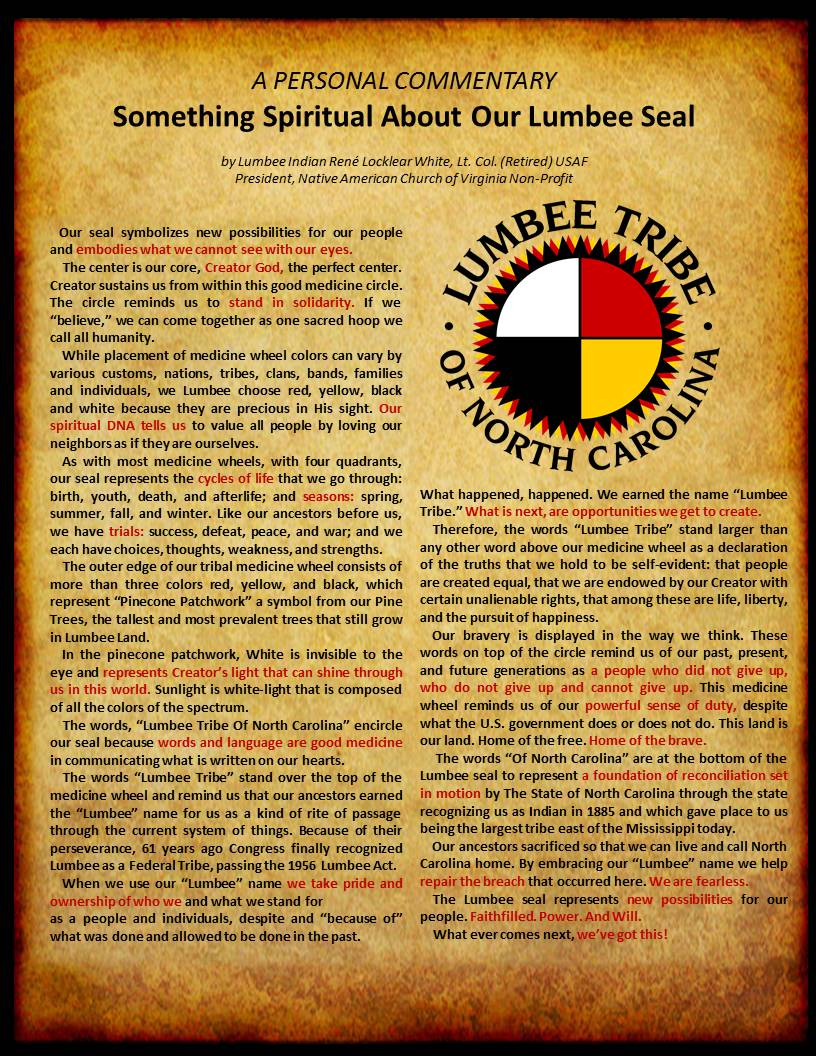 Native American Church Of Virginia Spirit Speaks Forum